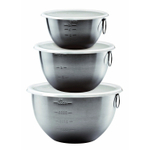 Tovolo Stainless Steel Mixing Bowl, Set of 3
