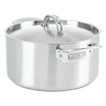 Viking Professional 5 Ply Stainless Steel Satin Finish 6 Quart Stockpot