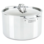 Viking 3 Ply Stainless Steel Mirror Finish 8 Quart Stock Pot