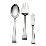 Lenox Federal Platinum Frosted 18/10 Stainless Steel 3 Piece Serving Set