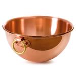 Mauviel M'Passion Copper Egg White Bowl, 4.9 Quart