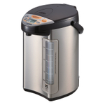 Zojirushi VE Hybrid Stainless Steel and Dark Brown 4 Liter Water Boiler and Warmer