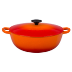 Le Creuset Flame Enameled Cast Iron 4.25 Quart Soup Pot