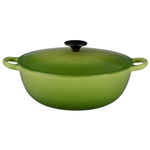Le Creuset Palm Enameled Cast Iron 4.25 Quart Soup Pot