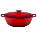 Le Creuset Cherry Enameled Cast Iron 4.25 Quart Soup Pot