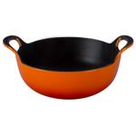 Le Creuset Flame Enameled Cast Iron 1.75 Quart Balti Dish