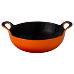 Le Creuset Flame Enameled Cast Iron 3 Quart Balti Dish
