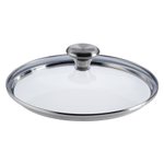 Le Creuset Signature Tempered Glass Lid with Knob Handle For 8 Inch Stainless Steel or Nonstick Fry Pan