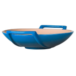 Le Creuset Marseille Blue Stoneware 28 Ounce Wok Dish
