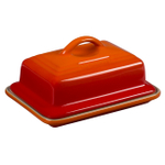 Le Creuset Heritage Flame Stoneware Butter Dish