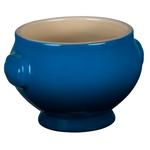 Le Creuset Heritage Marseille Blue Stoneware 20 Ounce Soup Bowl