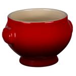 Le Creuset Heritage Cherry Stoneware 20 Ounce Soup Bowl