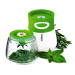 Cuisipro White and Green Cordless Herb Chopper