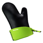 KitchenGrips Lime and Black FLXaPrene Large Chef's Mitt