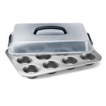 Calphalon Nonstick Bakeware 12 Cup Covered Cupcake Pan