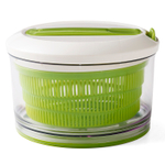 Chef'n SpinCycle Arugula and Meringue Small 8.5 Inch Salad Spinner