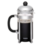 Bonjour Monet Stainless Steel 3 Cup French Press with Scoop