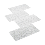 Cake Boss Scroll 4 Piece Imprint Mat Set