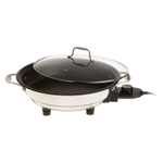 Cucina Pro Classic Stainless Steel and Non-Stick 12 Inch Electric Skillet