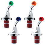 WMF Clever and More Zufix Color Stainless Steel Stopper, Set of 4