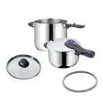 WMF Perfect Plus Stainless Steel 5 Piece Pressure Cooker Set