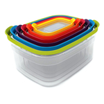 Joseph Joseph Nest Colorful 6 Piece Food Storage Container Set
