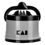 Kai Gray and Black Pull-Through Sharpener