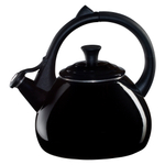 Le Creuset Black Onyx Enamel on Steel 1.9 Quart Oolong Tea Kettle
