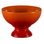 Le Creuset Flame Stoneware Footed Ice Cream Bowl