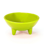 Chantal Lime Green 6 Ounce Molcajete Bowl