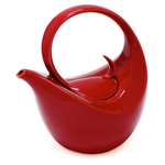Chantal Apple Red Stoneware 3 Cup Olivia Teapot