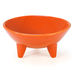 Chantal Orange 12 Ounce Molcajete Bowl