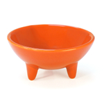 Chantal Orange 6 Ounce Molcajete Bowl