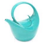 Chantal Aqua Stoneware 3 Cup Olivia Teapot