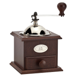 Peugeot Nostalgie Walnut Wood 8.25 Inch Coffee Mill