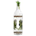Grant Howard Ergo Pourer Oliva Glass Oil and Vinegar 16 Ounce Cruet