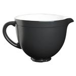 KitchenAid KSMCB5BM Matte Black Ceramic 5 Quart Mixing Bowl