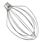 KitchenAid K5AWW Stainless Steel 6 Wire Whip Stand Mixer Attachment
