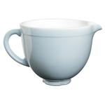 KitchenAid KSMCB5GB Glacier Blue Ceramic 5 Quart Mixing Bowl