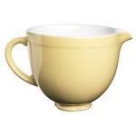 KitchenAid KSMCB5MY Majestic Yellow Ceramic 5 Quart Mixing Bowl