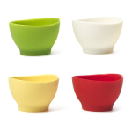 iSi Basics Flex-It Assorted Color Silicone Pinch Bowl, Set of 4