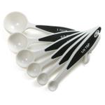 Norpro Grip-EZ White 6 Piece Measuring Spoon Set