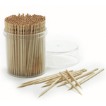 Norpro 2.5 Inch Ornate Wood Toothpick, Set of 360