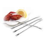 Norpro Stainless Steel Seafood Forked Pick, Set of 4