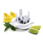 Norpro White Lemon and Lime Wedge Slicer