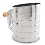 Norpro Stainless Steel 3 Cup Flour Sifter