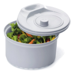 Progressive Prepworks White 3.5 Quart Salad Spinner