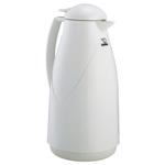Zojirushi White Euro Lever-Style Vacuum Insulated 1 Liter Carafe