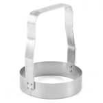 Stainless Steel Straight Edge Food Chopper