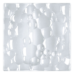 Nachtmann Sphere Crystal 8 Inch Square Salad Plate, Set of 2